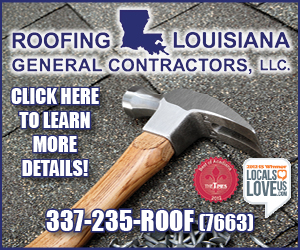 Roofing Louisiana LLCCLICK HERE TO LEARN MORE DETAILS!337-235-ROOF(7663)