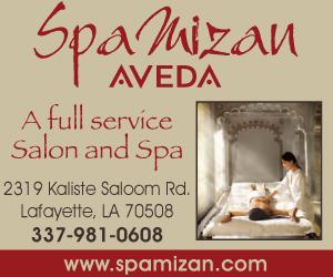 2319 Kaliste Saloom Rd, Lafayette, LA 70508 phone: (337) 981-0608 Spa Mizan - An AVEDA Salon and Spa