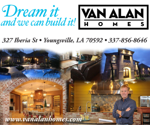 Quality Construction at the most Affordable Price Van Alan Homes 327 Iberia St Youngsville, LA 70592 337-856-8646 www.vanalanhomes.com  Click Here to visit us online and learn more!