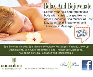 Relax And Rejuvenate with Coccolare Spa