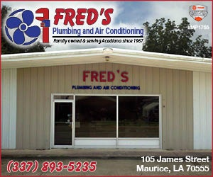 Fred's Heating, Plumbing and Air Comditioning