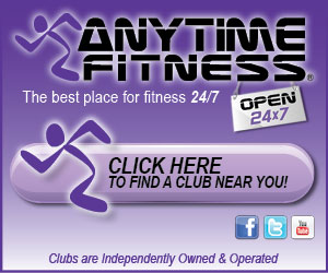 Anytime Fitness The best place for fitness 24/7 Click Here to find a club near you! Clubs are Independently Owned and Operated
