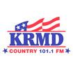101.1 FM KRMD Logo