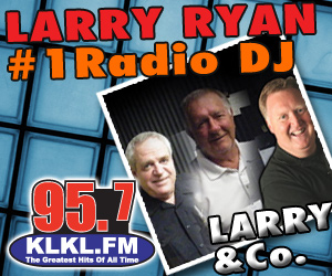 LARRY RYAN #1 RADIO DJ!