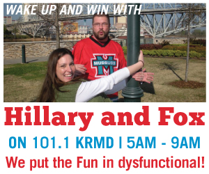 HILLARY AND FOX - KRMD