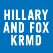 Hillary and Fox - KRMD Logo