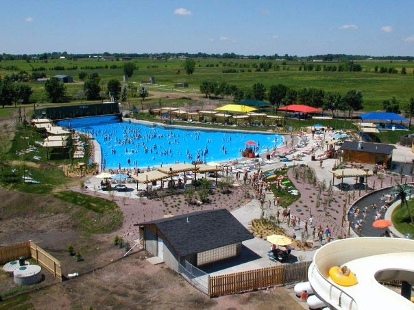 Wild Water West wave pool