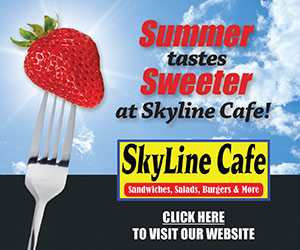 Summer Tastes Sweeter at Skyline Cafe! Skyline Cafe - Sandwiches, Salads, Burgers & More. Click HERE to Visit Our Website