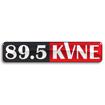 89.5 FM KVNE Logo