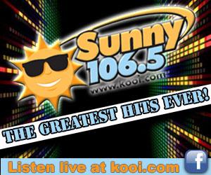 Sunny 106.5, www.kooi.com. The Greatest Hits Ever! Listen live at kooi.com