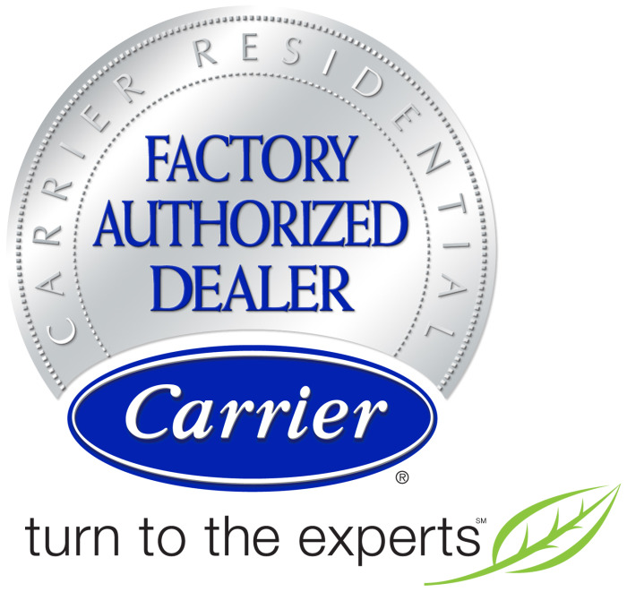 Factory Authorized Dealer, Carrier. turn to the experts