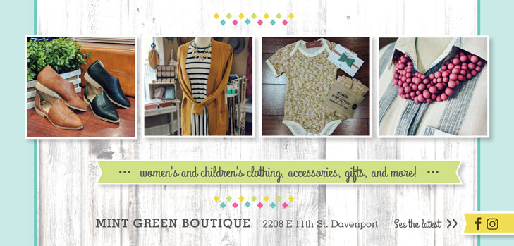 Mint Green Boutique | Quad Cities ♥ Locals Love Us