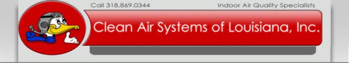 air clean conditioning Louisiana ac