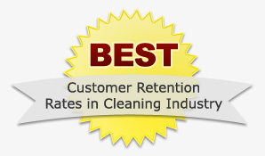 Best Customer Retention Rates in Cleaning Industry