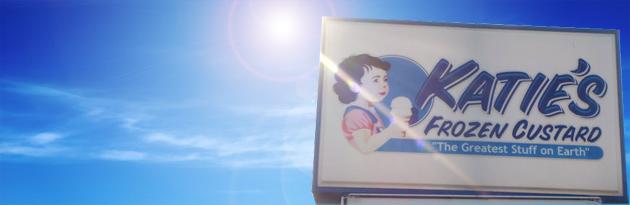 Katie's Frozen Custard banner