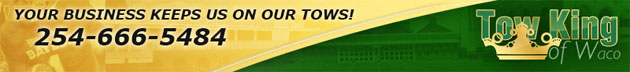 Tow King of Waco banner
