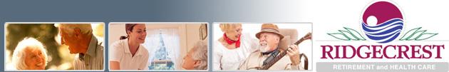 Ridgecrest Retirement and Healthcare banner